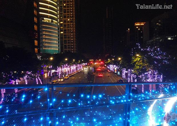 Christmasland Taipei Life Nightview Romanticism 耶诞城 台北生活 夜景 浪漫主义 Yalan雅岚文艺博客